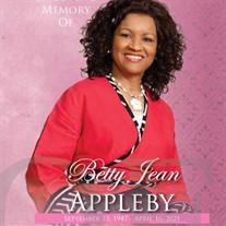 MRS. BETTY JEAN APPLEBY