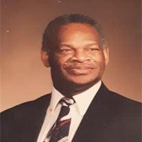 """Bishop Arnold Lee """"Ted""""  Robinson Sr."""