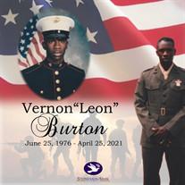 """Mr. Vernon """"Leon"""" Burton"""
