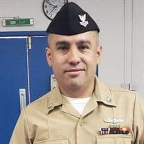 Petty Officer Alexander Arias