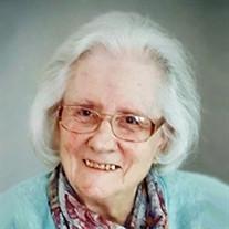 Ruth Evelyn Strasz