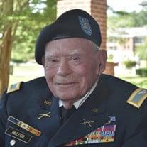 Col. Purdy B. McLeod, Jr., US Army (Ret.)