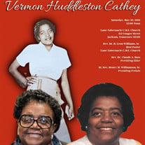 Mrs. Vermon Huddleston Cathey