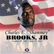 """Mr. Charles Edward """"Shammey"""" Brooks Jr."""