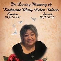 Katherine Mary Helen Solano