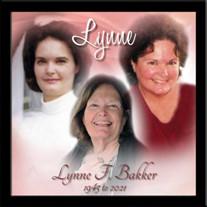 Lynne F. Bakker