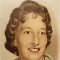 """Rebecca """"Becky"""" Joyce Camp Waters"""