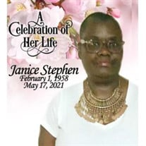 Mrs. Janice Stephen