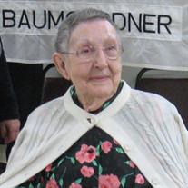 Mrs. Frances Grace Baumgardner Bosley