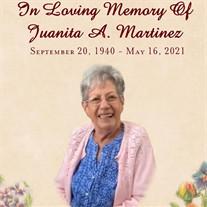 Juanita Arabella Martinez