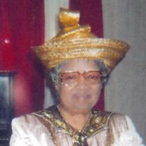 Pastor Mary Lee Thompson