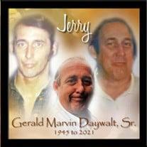 Mr. Gerald Marvin Daywalt Sr.
