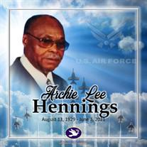 Mr. Archie Lee Hennings