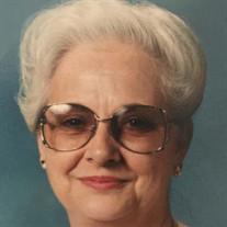 Clara M West