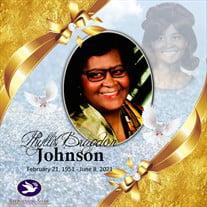 Mrs. Phyllis Alice Bragdon Johnson