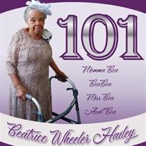 Beatrice Wheeler Hailey