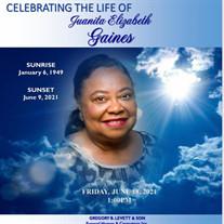 Mrs. Juanita E. Gaines