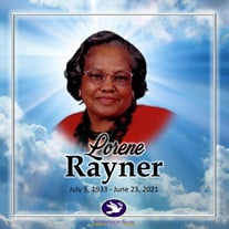 Mrs. Lorene McGoughy Rayner