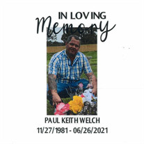 """Paul """"Keith"""" Welch"""