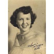 Etta Yvonne Hall