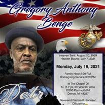 Mr. Gregory Anthony Benge
