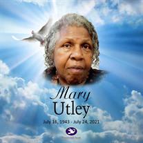 Mrs. Mary Aaron Hollingsworth Utley
