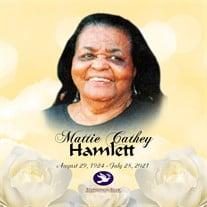 Mrs. Mattie Cathey Hamlett