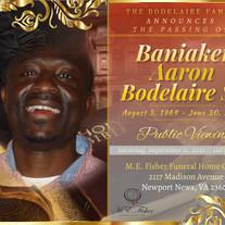 Mr. Baniaken Aaron Bodelaire, Sr.
