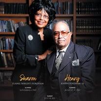 Henry III and Sharon Fordham