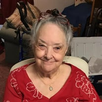 Mrs. Margie Broughton White  82 years old of Keystone Heights