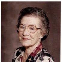 Mrs. Esther Zeringue Detillier