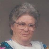 Mrs. Hattie Pearl Brady Justice