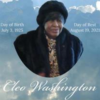 Cleo Washington