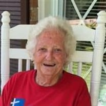 Mattie Sue (Granny) Locke Teague of Ramer, TN