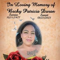 Becky Patricia Duran