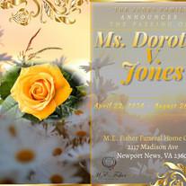 Ms. Dorothy Virginia Jones