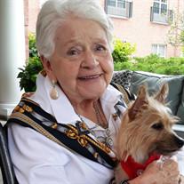 Mrs. Audrey Miller of Buffalo Grove