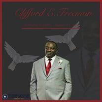 Mr. Clifford Edward Freeman