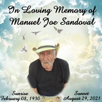 Manuel Joe Sandoval