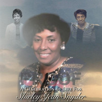 Mrs. Shirley Jean Snyder