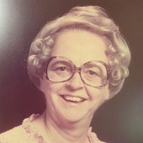 Mrs. Jeanette Burnett Walker
