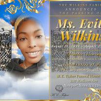 Ms. Evita Natassha Wilkins