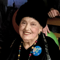 Mrs. Justilia Marieier Charpentier Adams