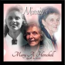 """Mary A. """"Minnie"""" Herschell"""
