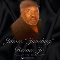 """Mr. James """"Junebug"""" Reeves Jr."""
