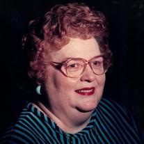 Margaret Joanne Stutler Stout