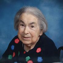 Mrs. Lucy Catherine Trebotich