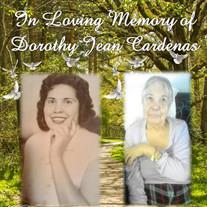 Dorothy Jean Cardenas