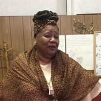 Pastor Jannie Moore Burden