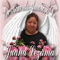 Juana Lezama Suarez